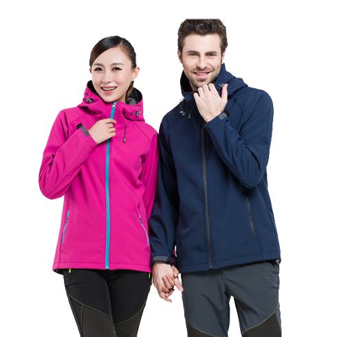 情侣款户外软壳衣 防风防水保暖登山滑雪服