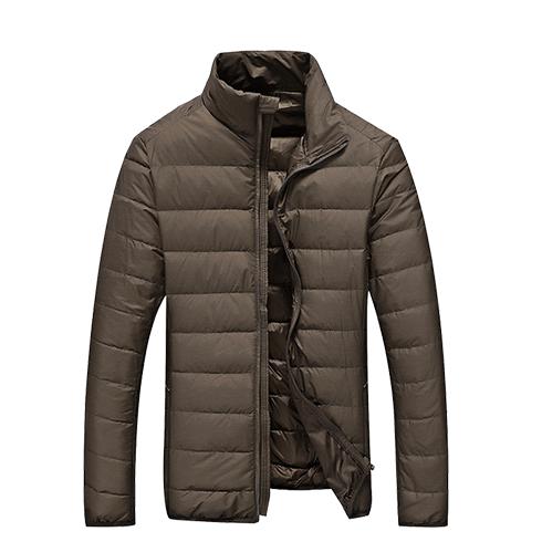 轻薄款羽绒服男短款冬装外套
