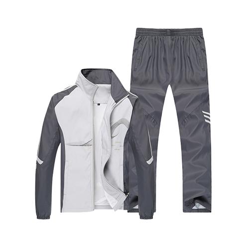 健身时尚户外运动休闲男套装